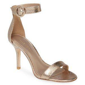 Pelle Moda Kallie Genuine Snakeskin Sandal size 7